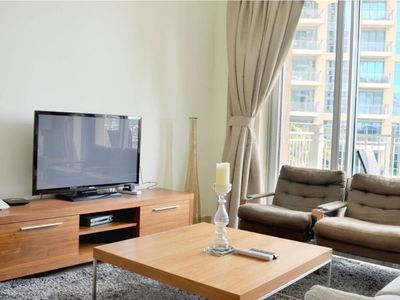 Photo for Pool View 2BR in Downtown Dubai (Standpoint 705)
