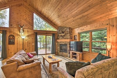 Tower Vacation Rental | 3BR + Bunkhouse | 2BA | Single Story | 1,426 Sq Ft