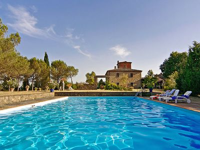 Photo for 2 bedroom Villa, sleeps 4 in Pozzo with Pool and WiFi