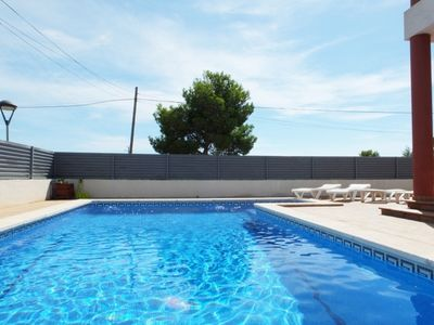 Photo for Fully air-conditioned villa with panoramic views, private pool, FREE WIFI