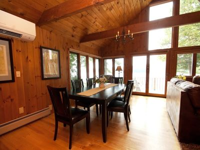 Photo for Private Lakeside Luxury mins to Burlington, ski resorts,shopping & Fine Dinning