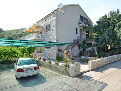 Photo for One bedroom apartment with balcony and sea view Prižba (Korčula)