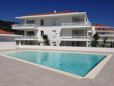 Photo for New luxury apartment with sea view, pool, garage and beaches 200m