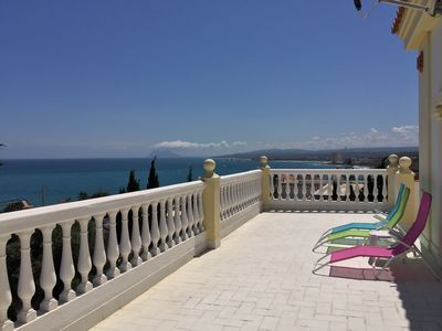 Photo for Spacious Villa With Amazing Sea Views With Swimming Pool And Jacuzzi