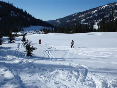 Photo for Winter Wonderland True Ski in & Ski Out Sun Peaks Condo!