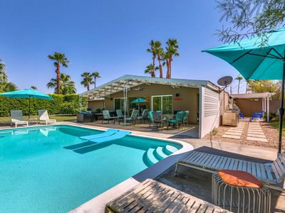 Photo for Come stay in this fabulous modern Palm Springs Alexander vacation home!