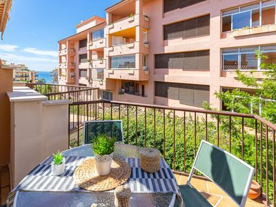 Photo for New listing! Bright condo near the beach w/partial sea view and dogs ok!