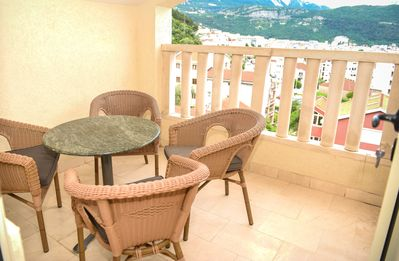 Photo for Lovely Apartment near city center with Sea View