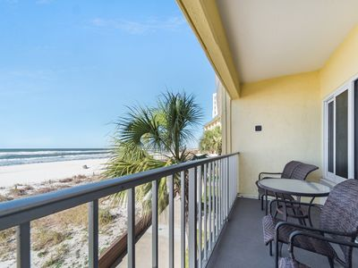 Photo for New Listing! Location, location, location! Spacious studio right on the beach!