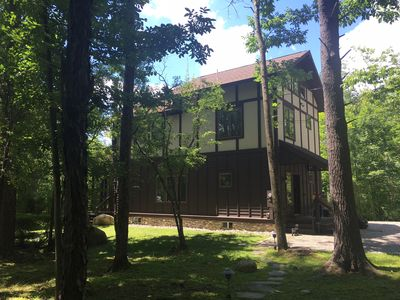 Photo for Fantastic Lakefront Property on Stockbridge Bowl - Extended Stays Welcome
