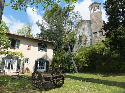Photo for 4BR Country House / Chateau Vacation Rental in San Giusto a Montalbino, Toscana