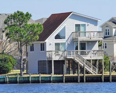 Photo for Waterfront with 3 bedrooms, Community pool , marina and tennis access.