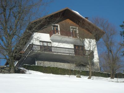 Photo for Large family chalet with all comfort overlooking the valley of La Bresse