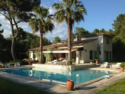 Photo for superb villa, heated pool 12x6 SW Exp Breathtaking view without opposite