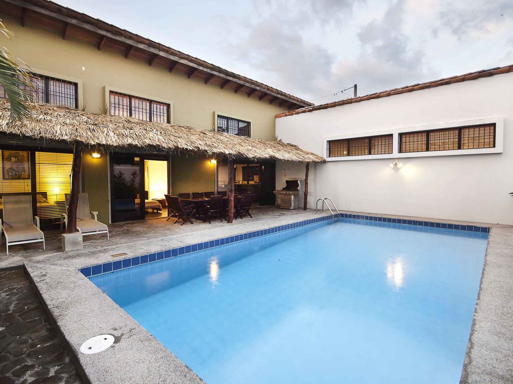 spacious modern home large pool with homeaway jaco