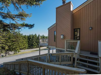 Photo for Updated unit! Slope access, shuttle route, wifi, fireplace, landline