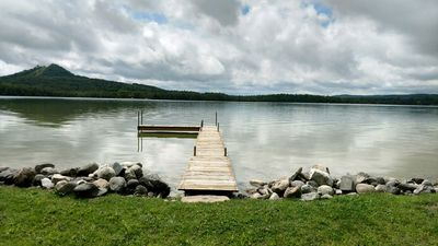 Photo for Recently updated lakefront cottage on the north shore of Little Traverse.