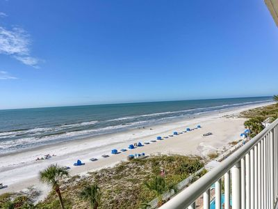 Photo for Beachfront, Prime Location, W/D, Free Wi-Fi & Cable, Pool, Hot Tub, BBQ, Parking--707 Sandcastle