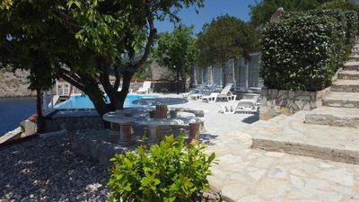 Photo for Apartment house with a pool and a private tennis court - A3 apartment