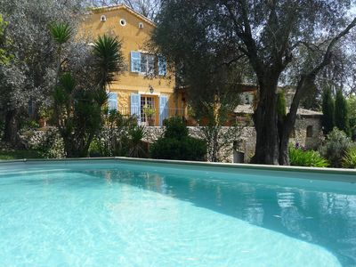 Photo for charming house large garden swimming pool