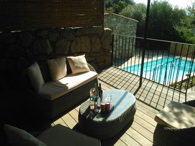 Photo for Air-conditioned sheepfold with swimming pool in Muratello, 10 minutes from Porto vecchio.