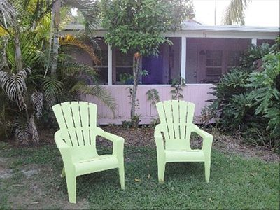 The Pink Flamingo Cottage the way Florida used to be!