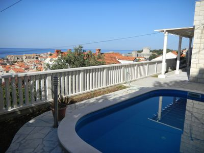 Photo for Villa Juliet, Three Bedroom,  Private Terrace And Pool With Sea Vie