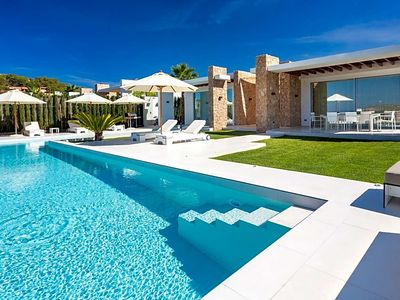 Photo for Cala Bassa Villa, Sleeps 12 with Pool and Air Con