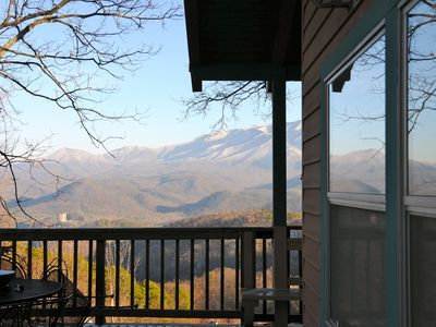 Million Dollar Full Mt LeConte/Tram View - 1.5 miles from Downtown Light #10