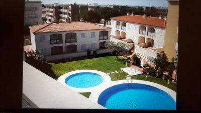 Photo for New apartment Cambrils swimming pool air conditioning parking beach. Reduced price 2 weeks