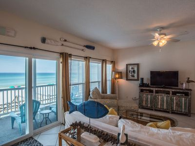 Photo for Beach Life, 30A Cottages, Wall to Wall Gulf Views, 3BR/3BA-Sleeps Eight, Fall Up to 30% Off!