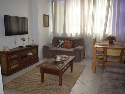Photo for Very comfortable Copacabana a few steps from the beach and 9 minutes from Ipanema