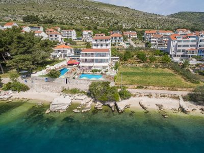 """Photo for EXCLUSIVE LOCATION BEACH APARTMENT """"IVONA""""! NEW OPEN SWIMMING POOL!"""