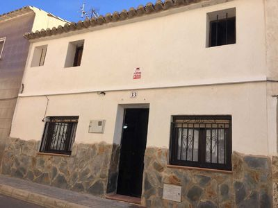Photo for TRADITIONAL SPANISH TOWN HOUSE INLAND SAX ALICANTE. SLEEPS 6 BED WIFI