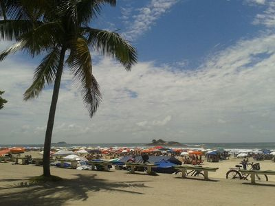 Photo for FRONT TOTAL sea - Pitangueiras Beach - # Foot in the sand - Excellent price