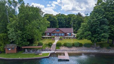 """Photo for Afternoon Delight:""""Lakefront Estate on Keuka's West Side!"""""""