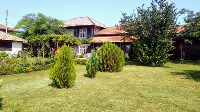 Photo for Traditional country house with big garden & BBQ