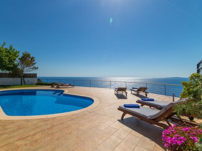 Photo for Villa with sea views only 50m from crystal clear waters, Sa Torre, Mallorca