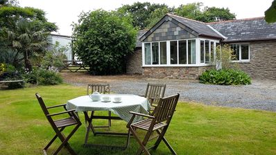 Photo for Beautiful one bedroom cottage, 5 miles coast, 3 miles dartmoor