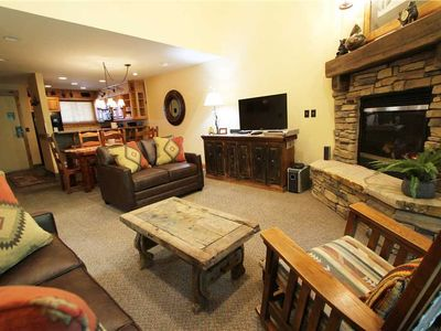 Photo for Snow Flower Condo #156, 3 bedroom 3 bath, sleeps 8, SKI-IN/SKI-OUT to Park City Mountain Resort