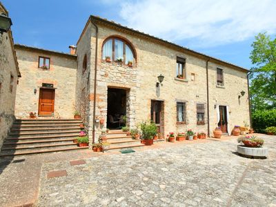 Photo for House in Monteriggioni with Parking, Internet, Washing machine, Pool (676856)