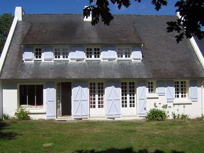 Photo for Villa 10 persons 400m from the beach, Port Manec'h, Nevez, South Brittany