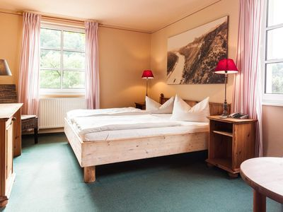 Photo for Double Room - Elbseite - Bio and Nationalparkhotel Helvetia