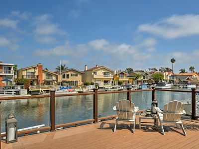 Photo for NEW! Waterfront Channel Islands Harbor Home w/Dock