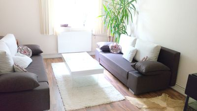 Photo for New renovated elegant apartment, top location, P + R, WiFi