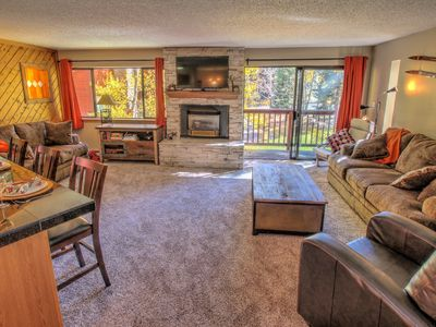 Photo for Ski-in And 1 Block From Downtown Breckenridge! Beautiful and spacious condo!