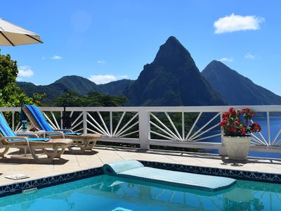 Photo for Spacious, updated, peaceful villa with Alexa, staff and pool.
