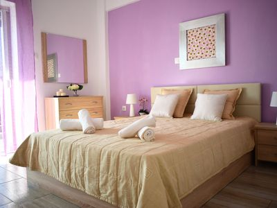 Photo for Fresh and stylish apt. next to the beach ΑΜΑ 167616