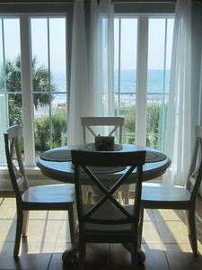 Photo for SPACIOUS 2B/2B Beachfront Condo, Large balcony with AMAZING VIEWS of the ocean
