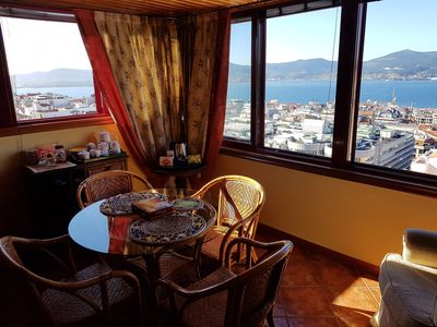 Photo for Penthouse loft in the center of Vigo overlooking the estuary.